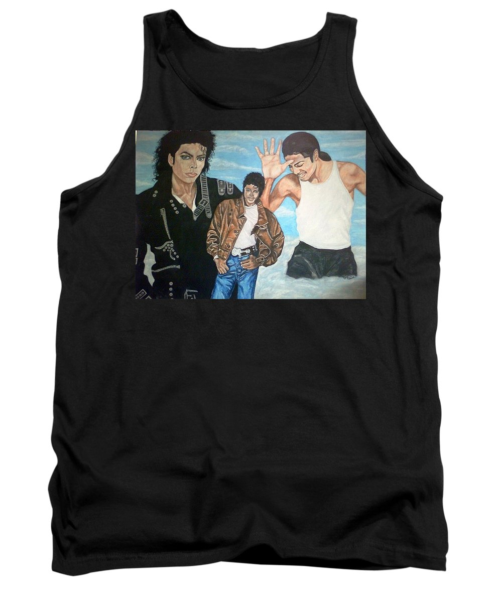 Music Tank Top featuring the painting Above The Clouds by Arron Kirkwood