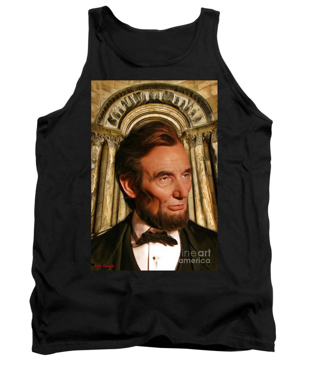 Abraham Lincoln Tank Top featuring the photograph Abraham Lincoln by Blake Richards