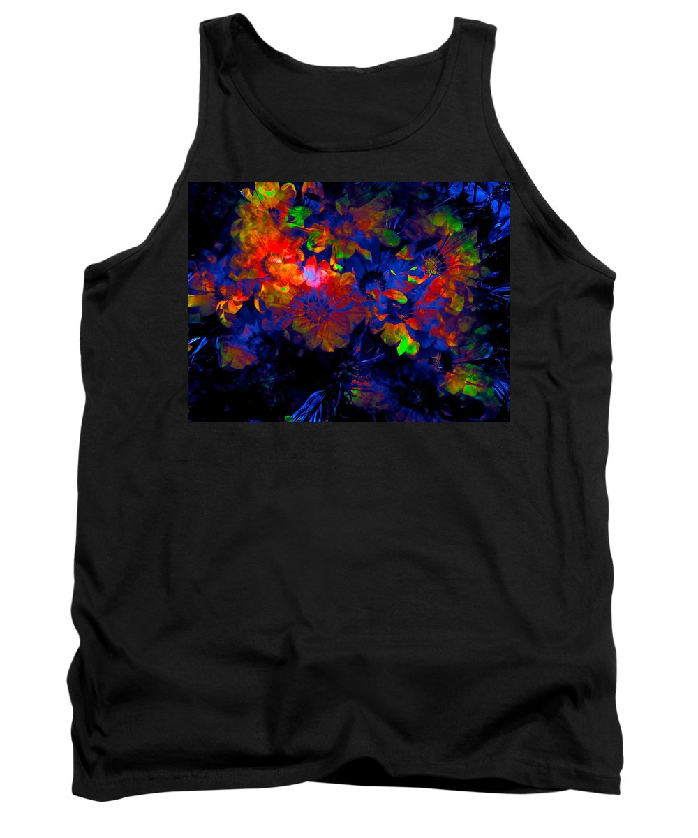 Abstract Tank Top featuring the photograph Abstract 129 by Pamela Cooper