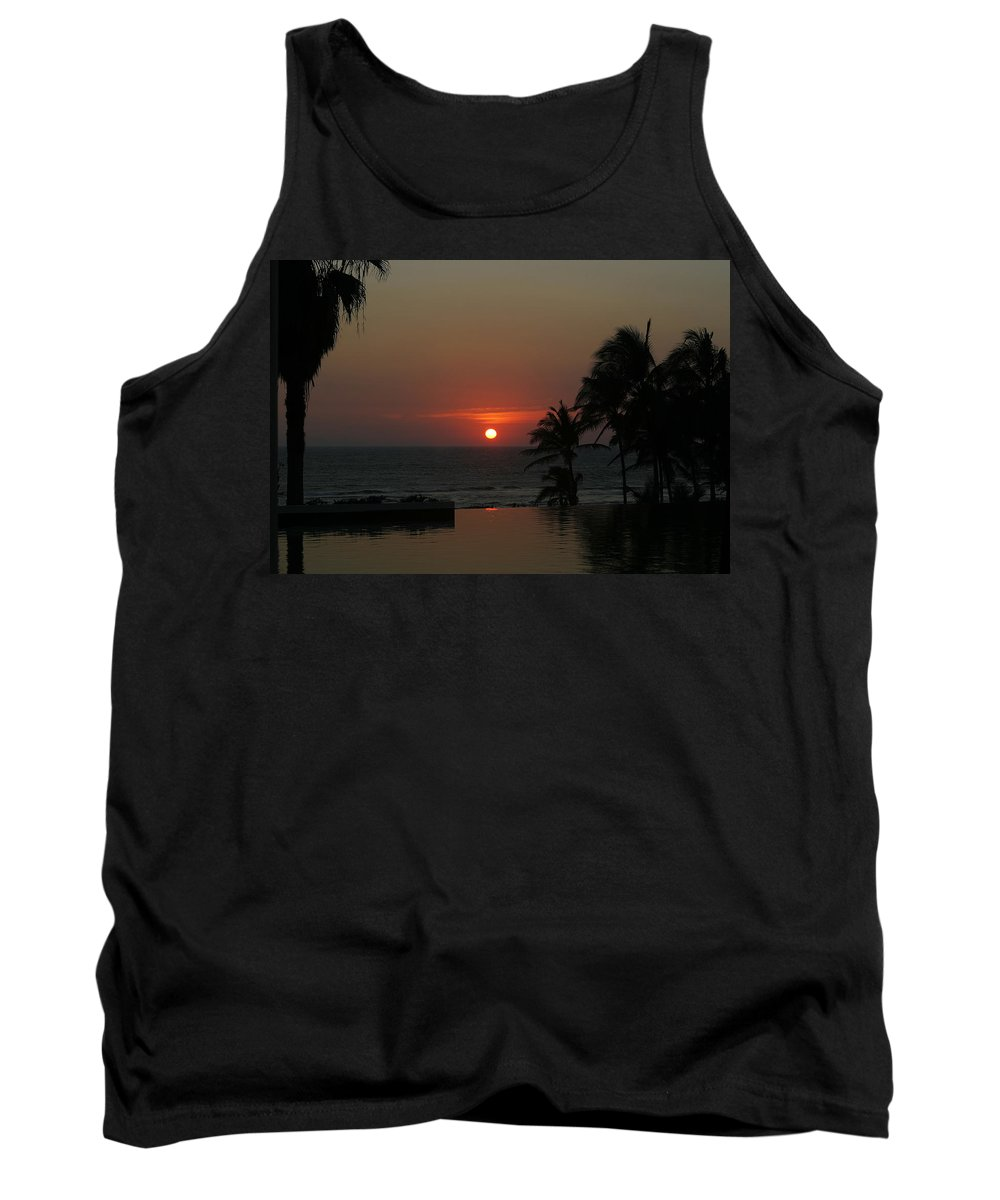 Sun Tank Top featuring the photograph Acapulco Red by Belinda Greb