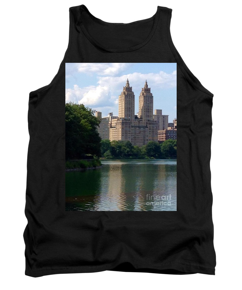 Reservoir Tank Top featuring the photograph Across The Reservoir by Christy Gendalia