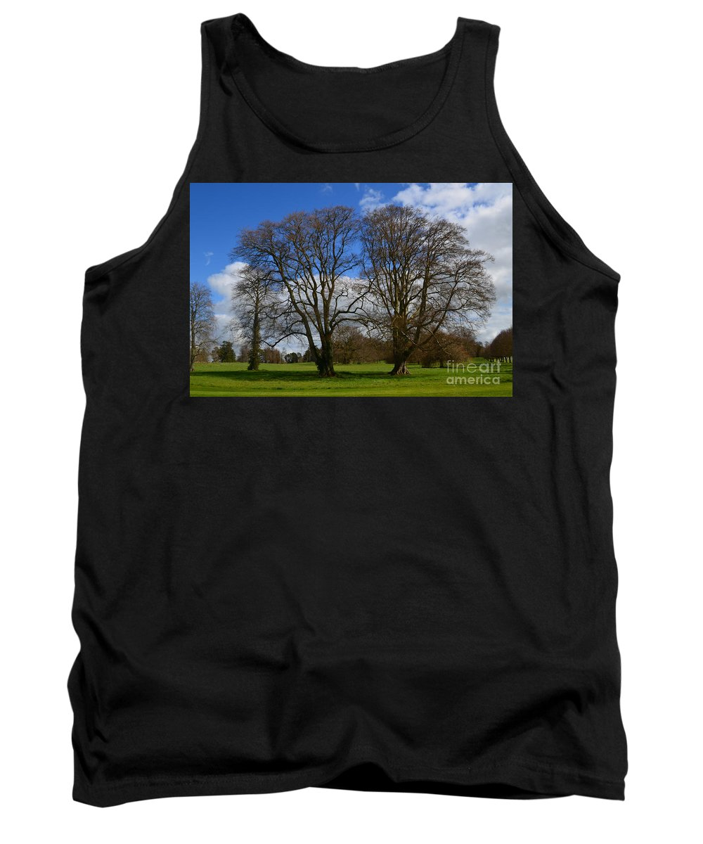 Irieland Tank Top featuring the photograph Adare Manor Grounds by DejaVu Designs