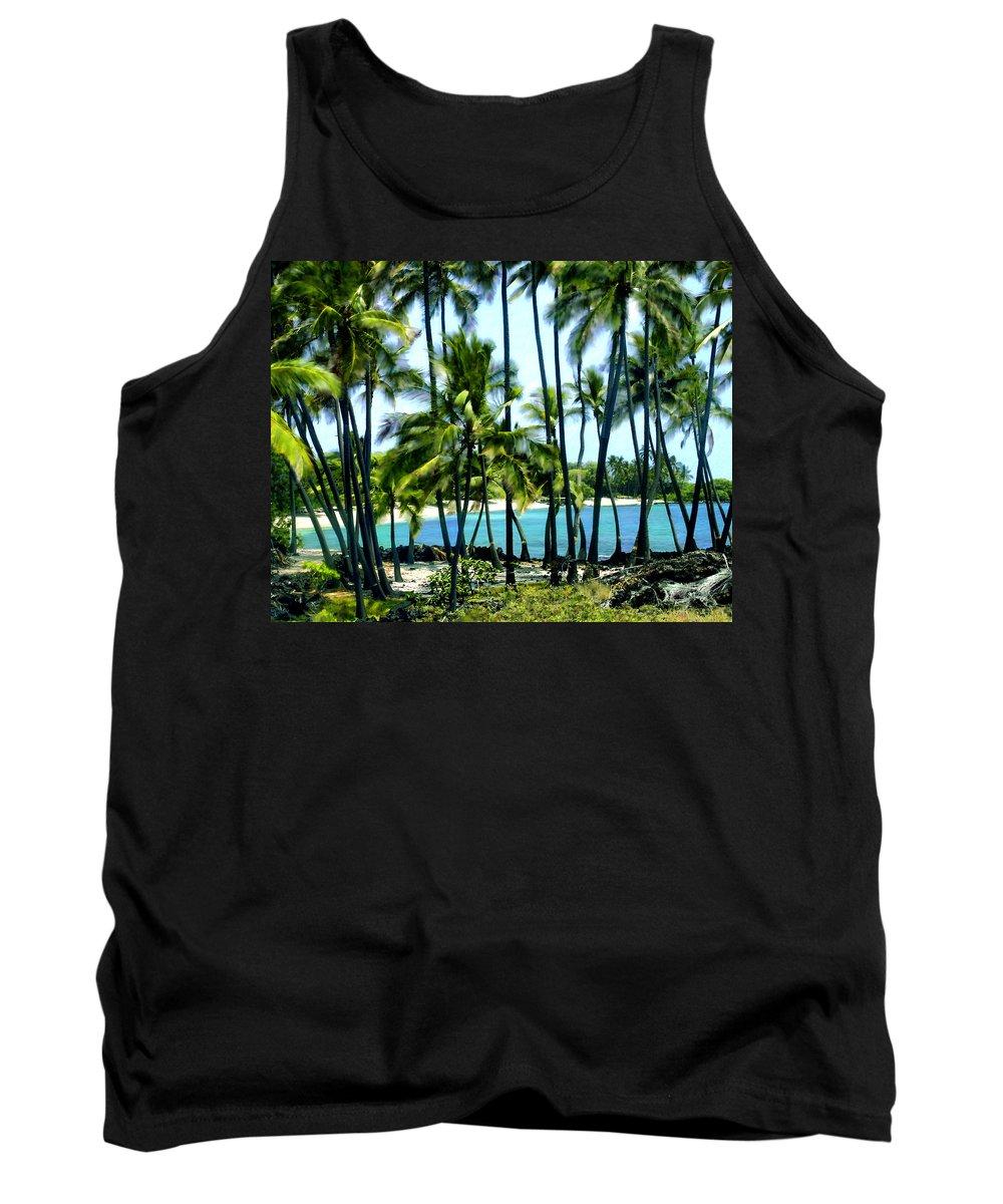 Hawaii Tank Top featuring the photograph Afternoon At Kakaha Kai by Kurt Van Wagner