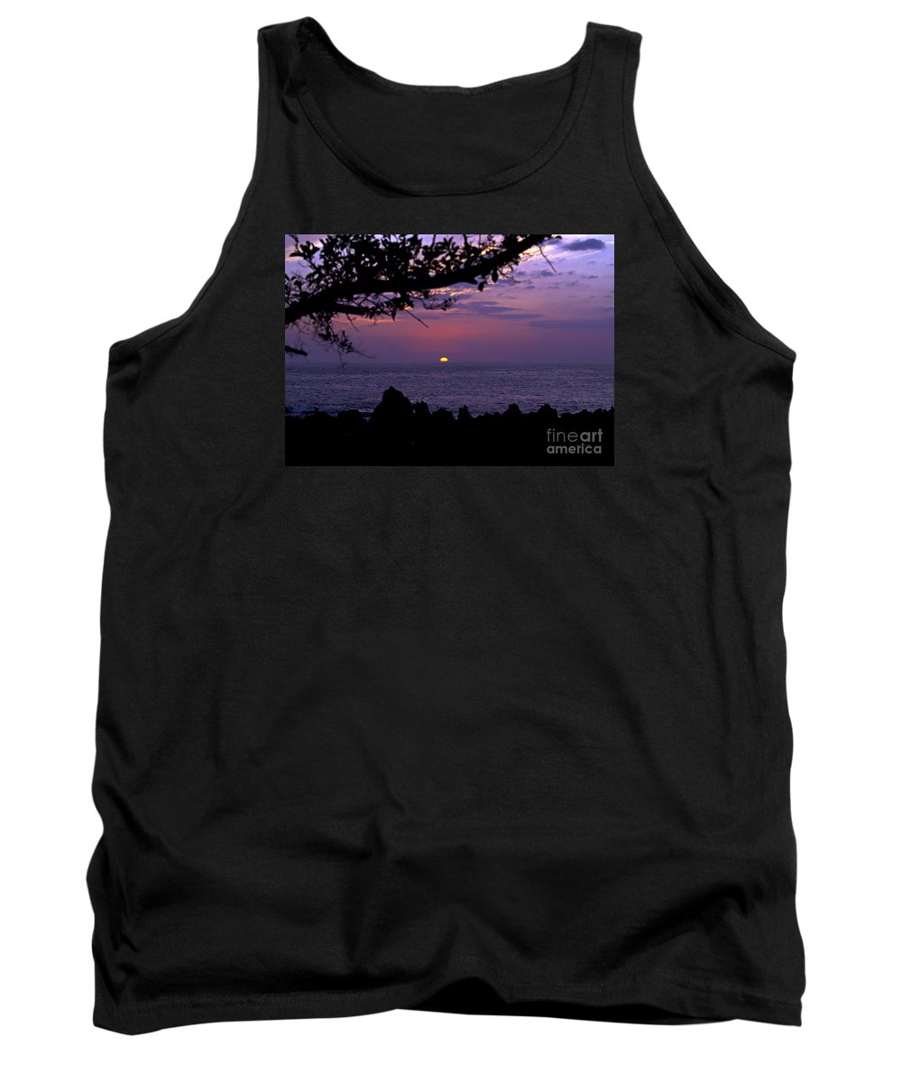 Sunset Photography Tank Top featuring the photograph Aloha V by Patricia Griffin Brett
