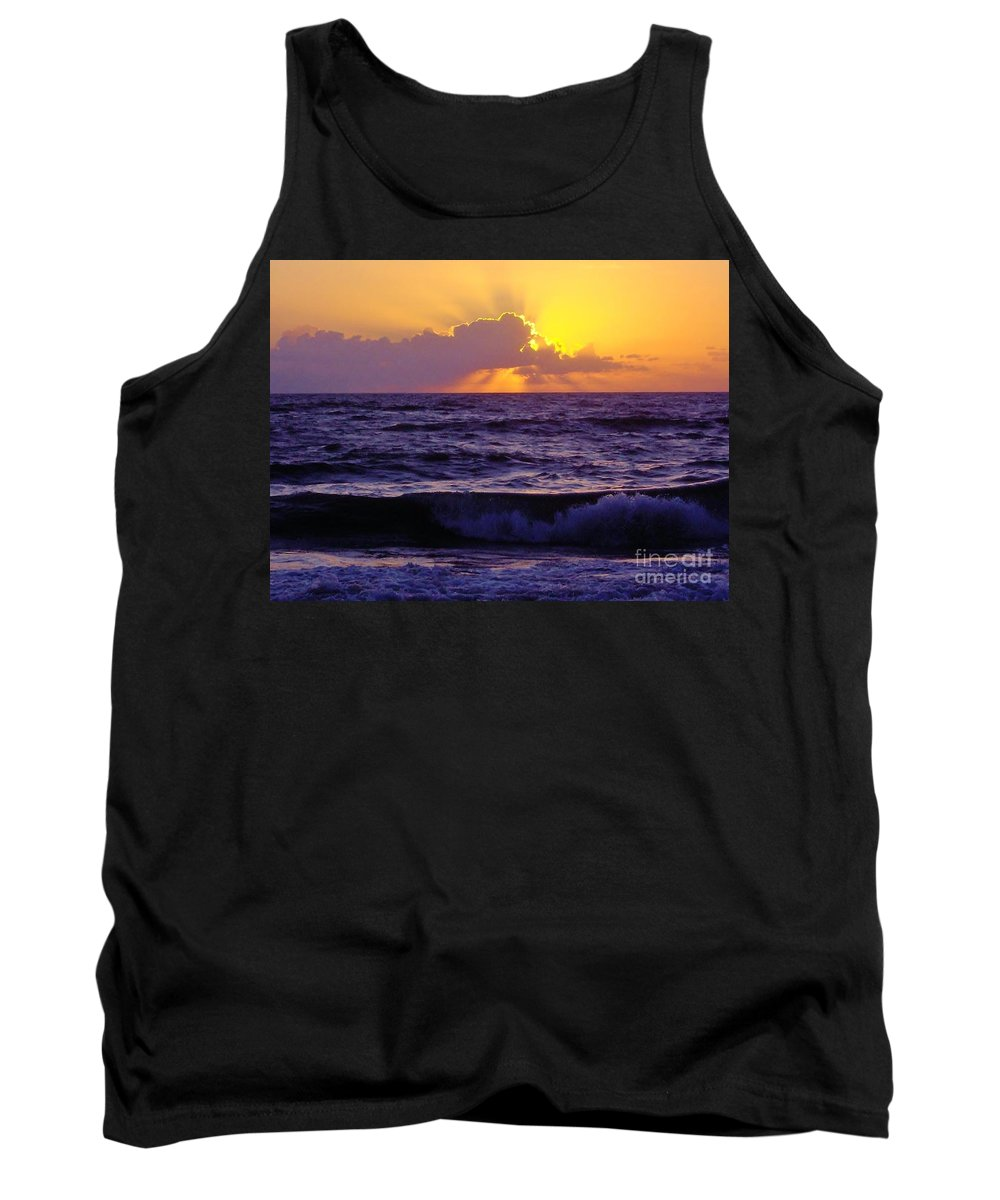 Bestseller Tank Top featuring the photograph Amazing - Florida - Sunrise by D Hackett