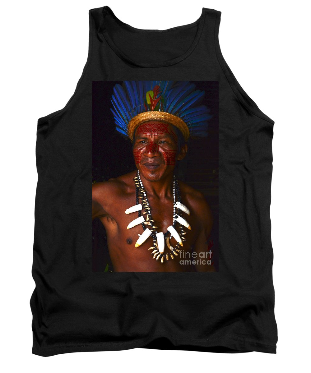 Amazon Tank Top featuring the photograph Amazon South America 3 by Bob Christopher