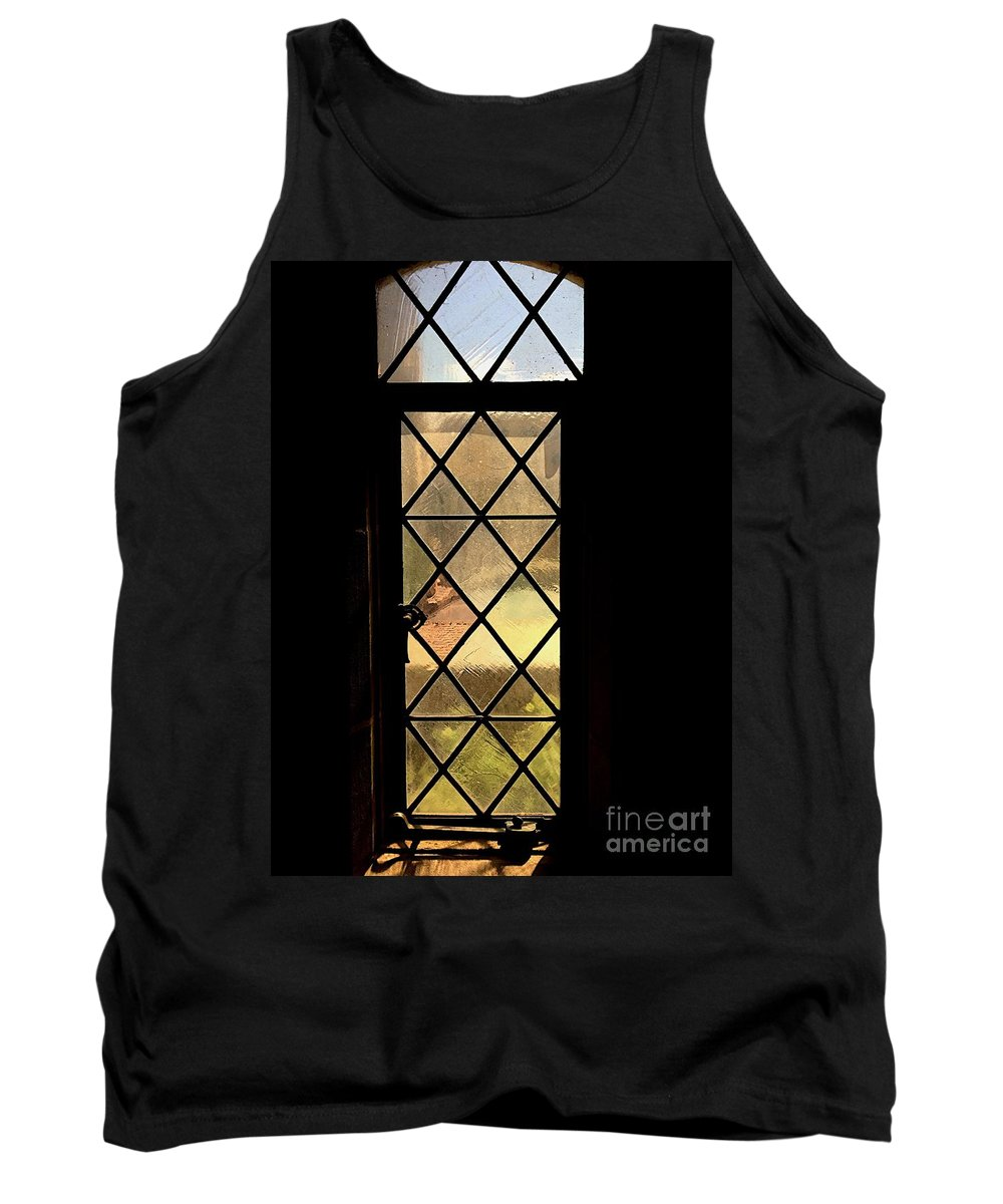 Architecture Tank Top featuring the photograph Amber Feelings by Joseph Yarbrough