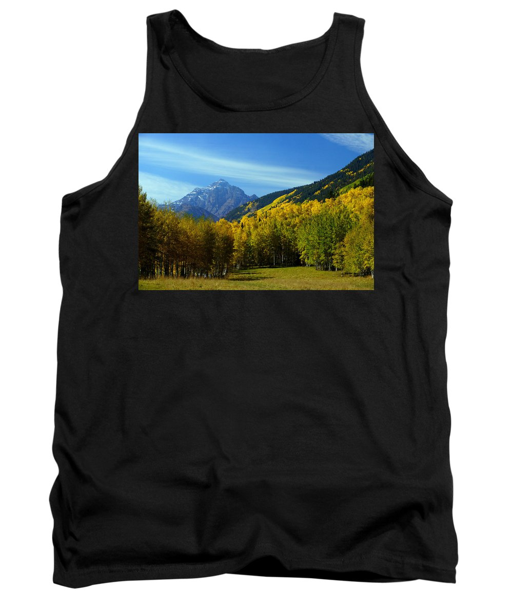 14ers Tank Top featuring the photograph Ancient Pyramid by Jeremy Rhoades
