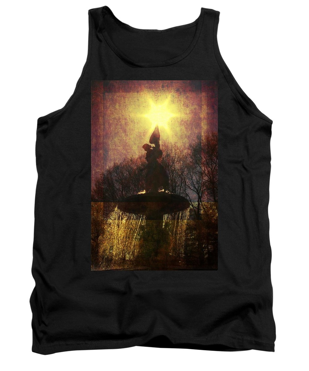Angel Tank Top featuring the photograph Angel Starburst by Alice Gipson