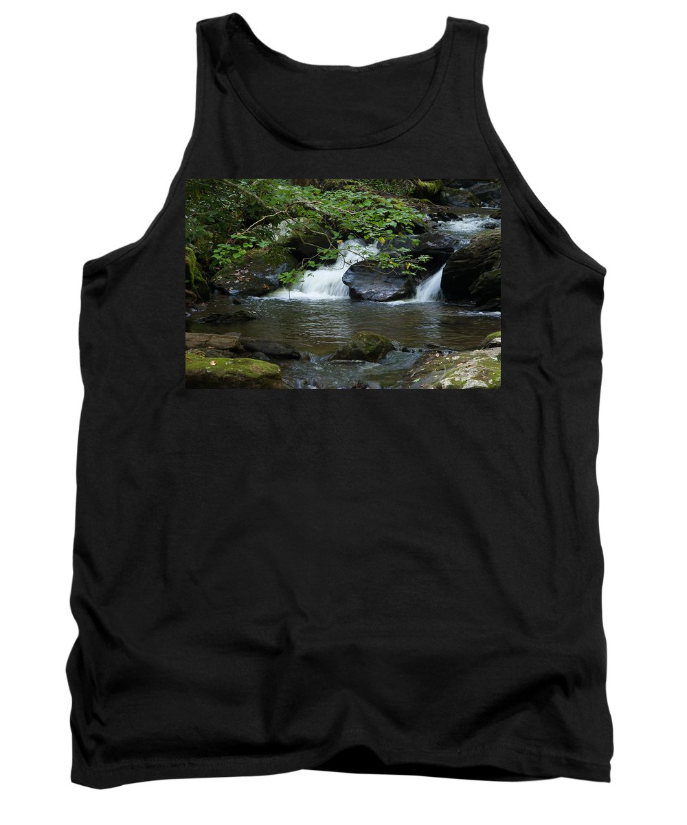 Water Falls Tank Top featuring the photograph Anna Ruby Falls 13 by Spencer Studios