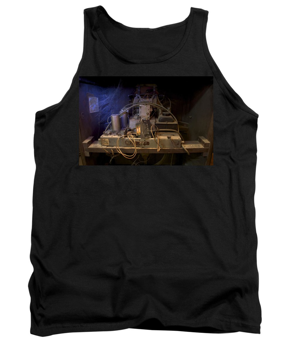 Radio Tank Top featuring the photograph Antique Philco Radio Model 37 116 by Thomas Woolworth