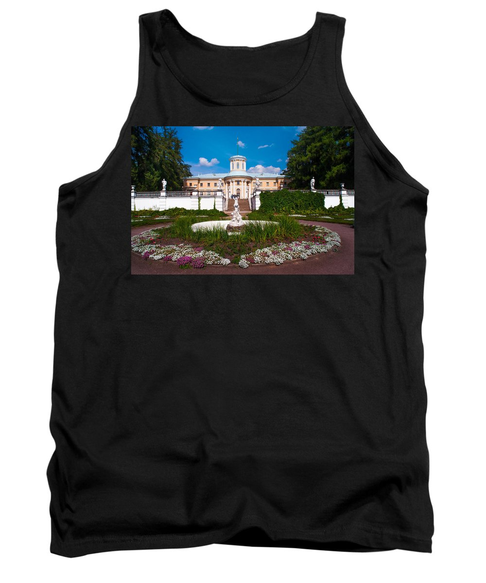 Archangelskoe Tank Top featuring the photograph Archangelskoe. Russian Versal by Jenny Rainbow