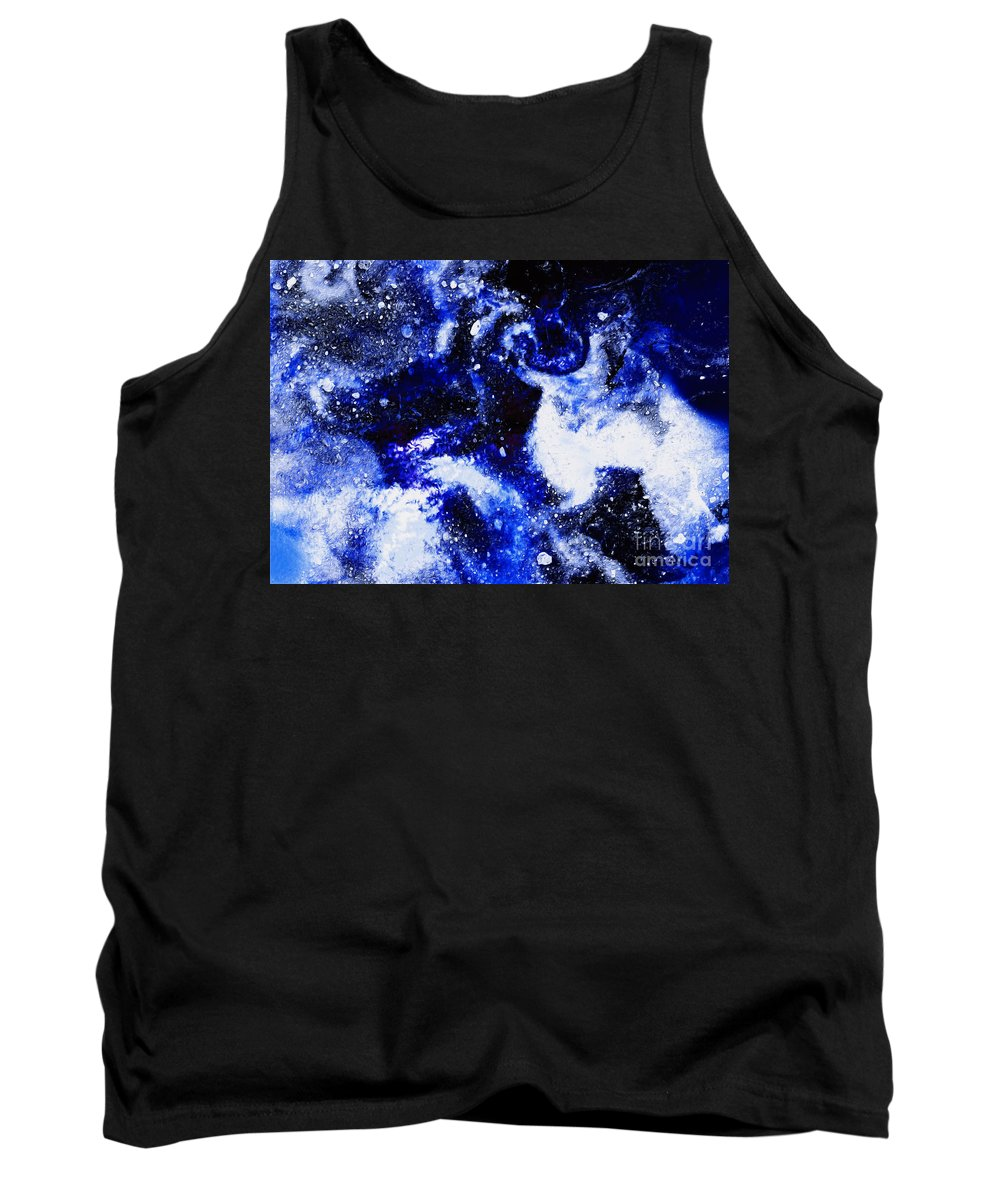 Canada Tank Top featuring the digital art Arctic Sea Ice by Phill Petrovic