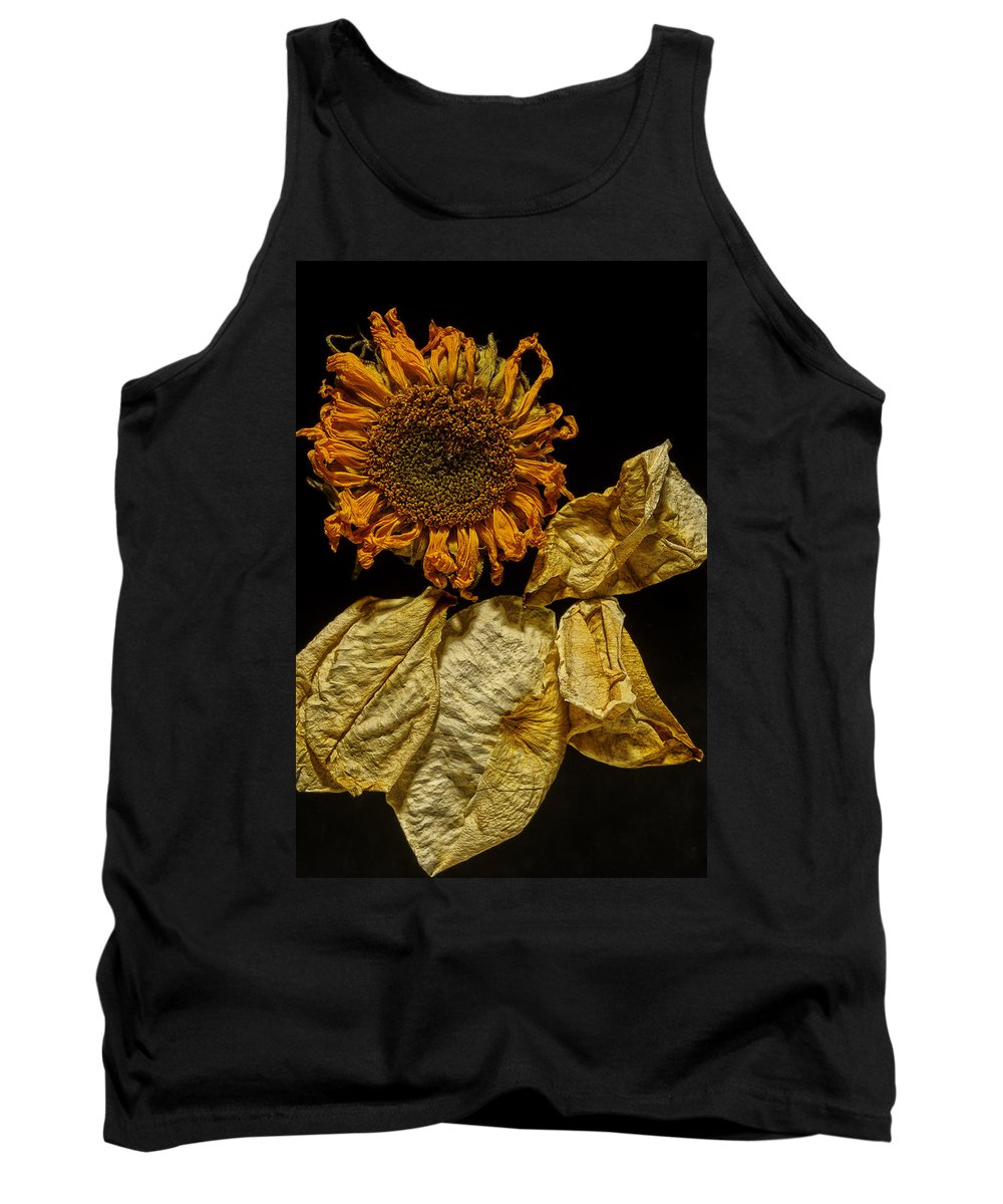 Sunflower Tank Top featuring the photograph Arrangement by David Stone