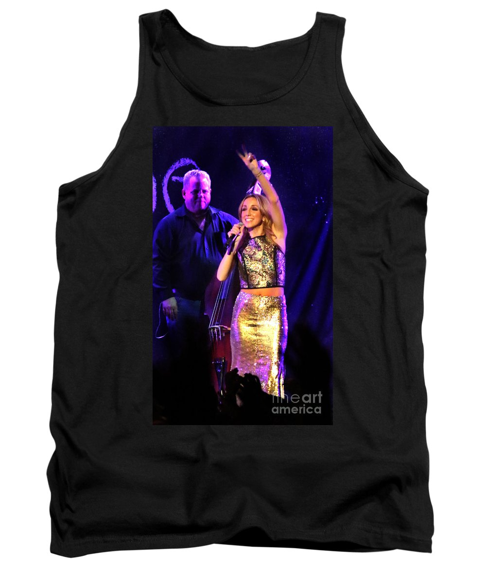 Ashley Monroe Tank Top featuring the photograph Ashley Monroe - 7392 by Gary Gingrich Galleries