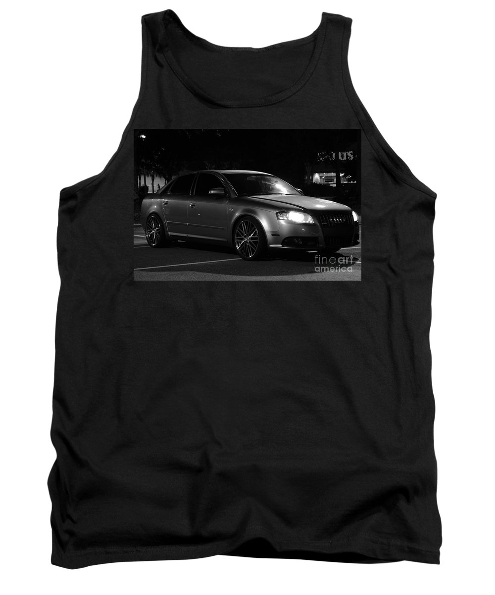 Tank Top featuring the photograph Audi 3 by Ronald Chacon