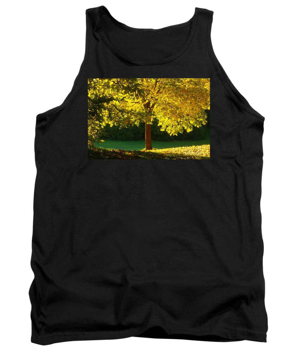 Nature Tank Top featuring the photograph Autumn Colors 10 by Rudi Prott