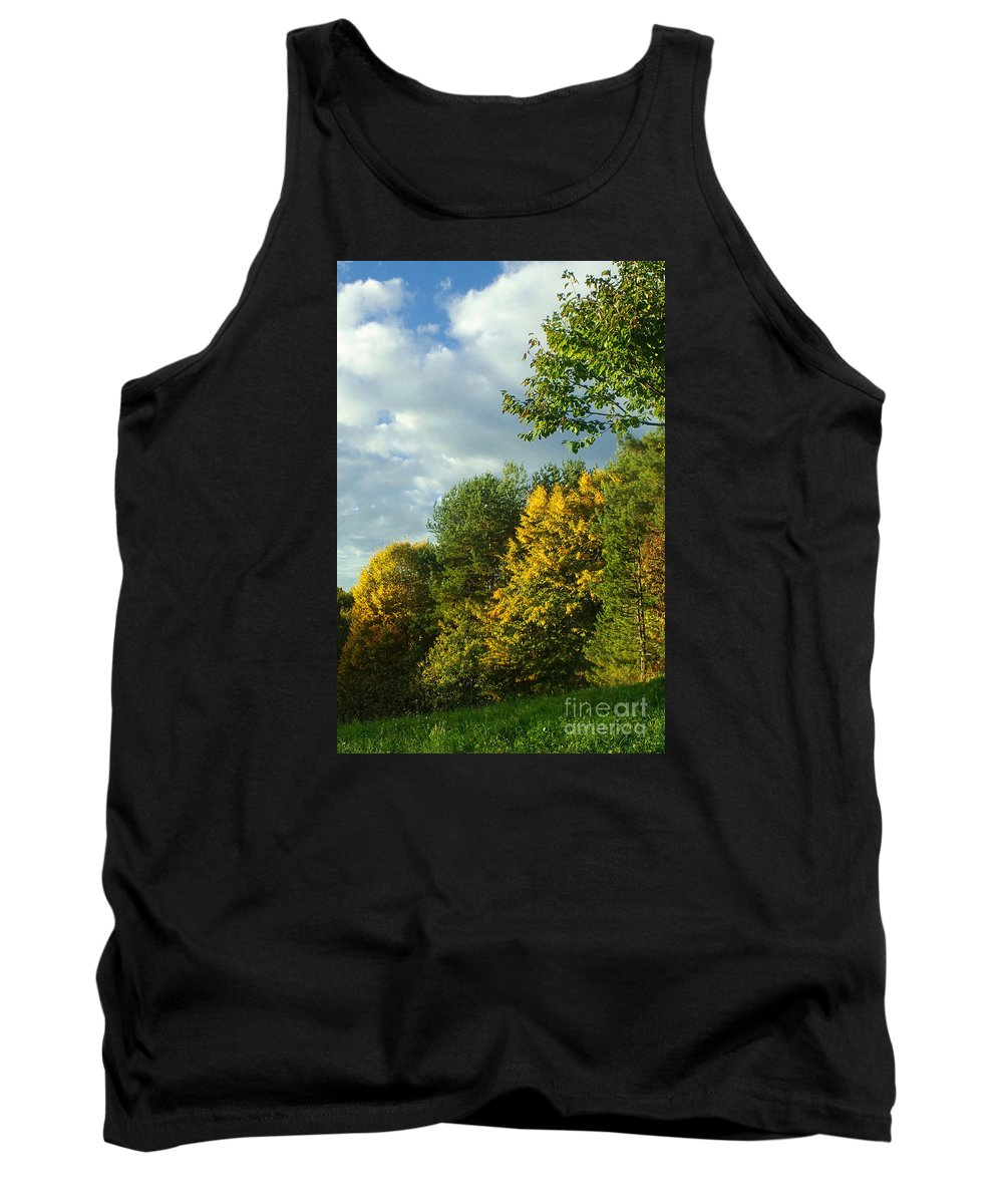Nature Tank Top featuring the photograph Autumn Colors 6 by Rudi Prott