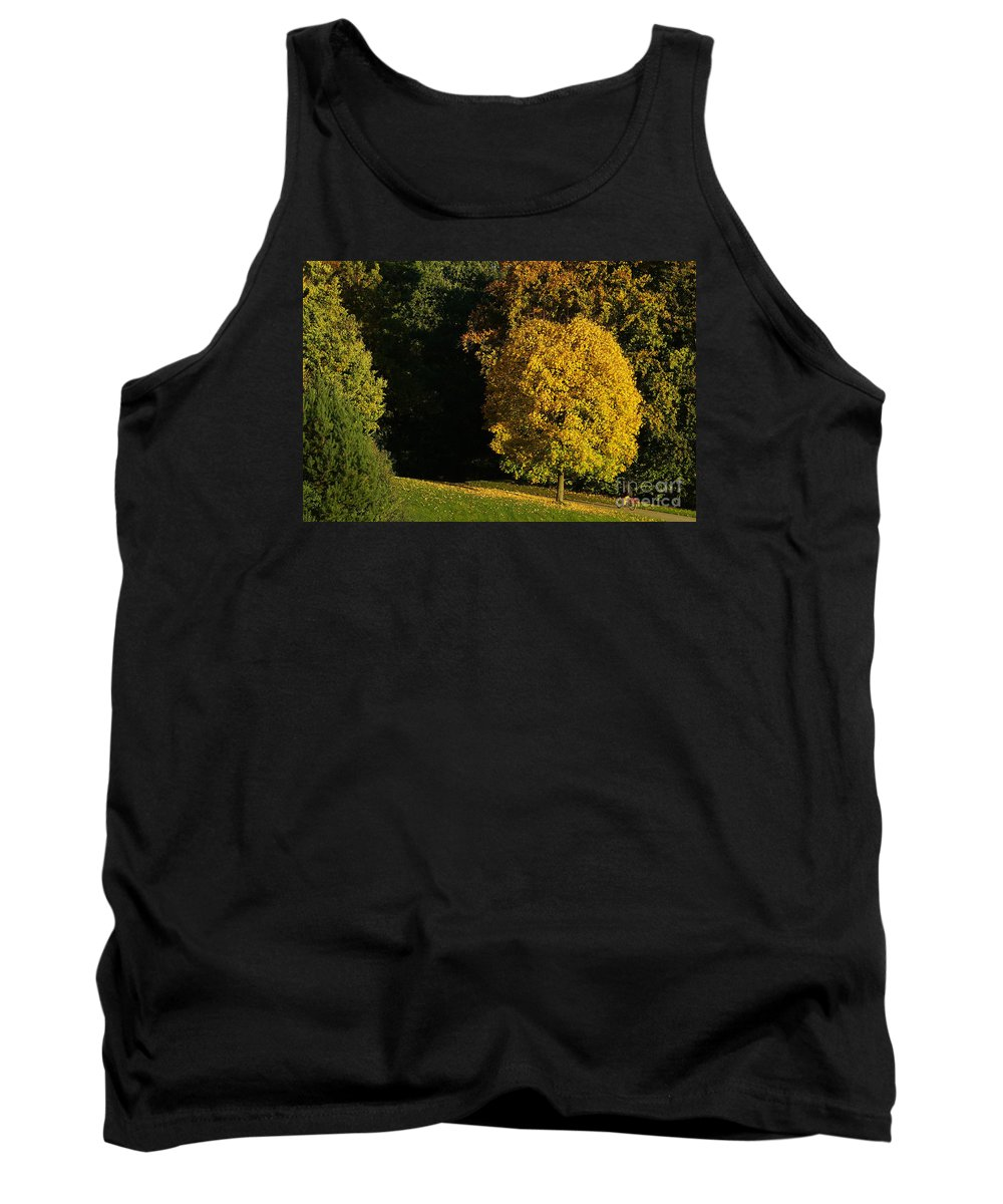 Nature Tank Top featuring the photograph Autumn Colors 7 by Rudi Prott