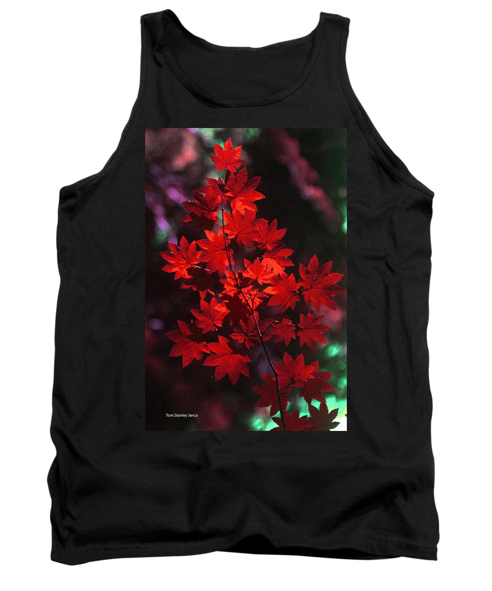 Autumn Colors Early Tank Top featuring the photograph Autumn Colors Early by Tom Janca