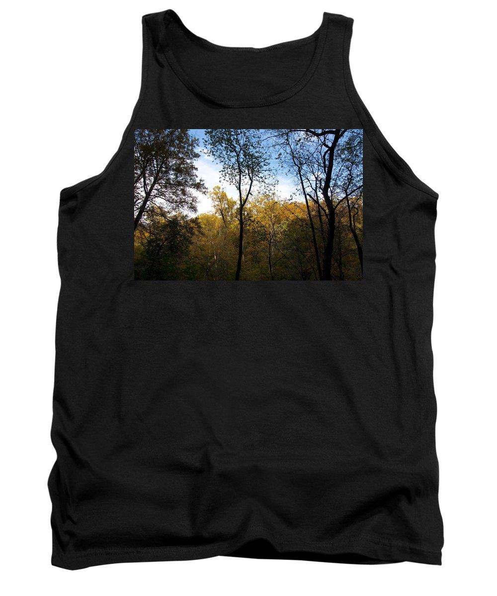 Autumn Tank Top featuring the photograph Autumn Days by Bill Cannon