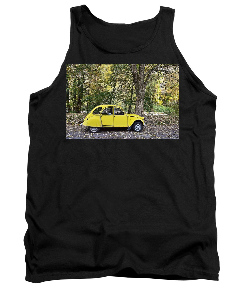 Transportation Tank Top featuring the photograph Autumn Harmony by Felicia Tica