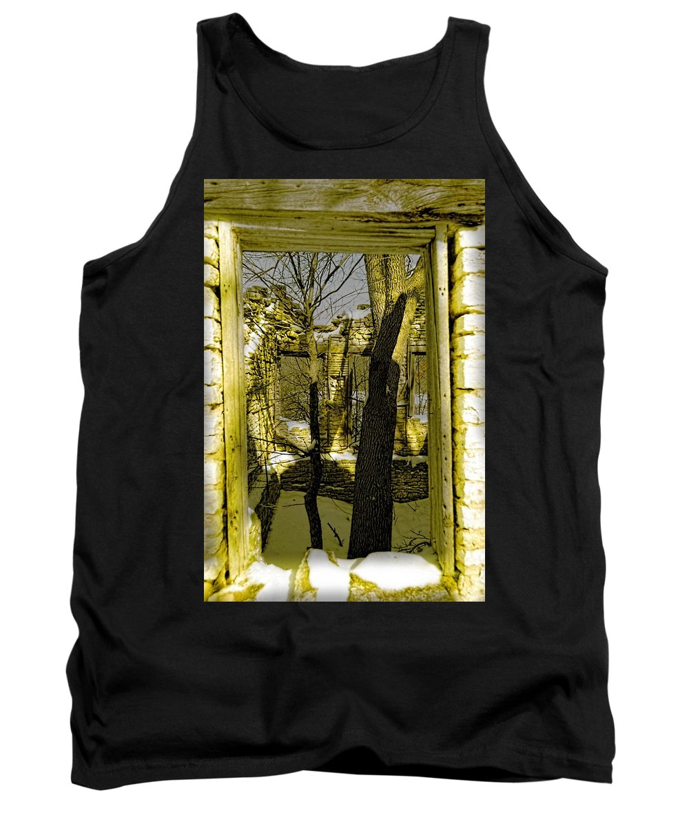 Tree Tank Top featuring the photograph Back In Time by Bonfire Photography