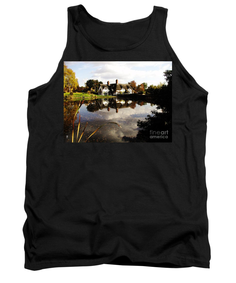 England Tank Top featuring the photograph Badger House by Neil Finnemore