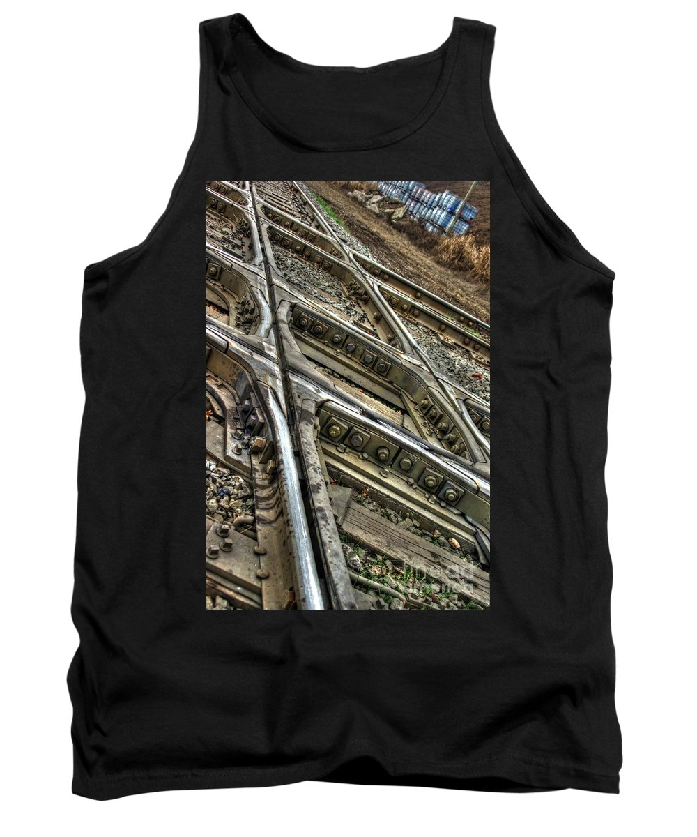 Columbus Tank Top featuring the photograph Bannon Diamond 05 Hdr by J M Lister
