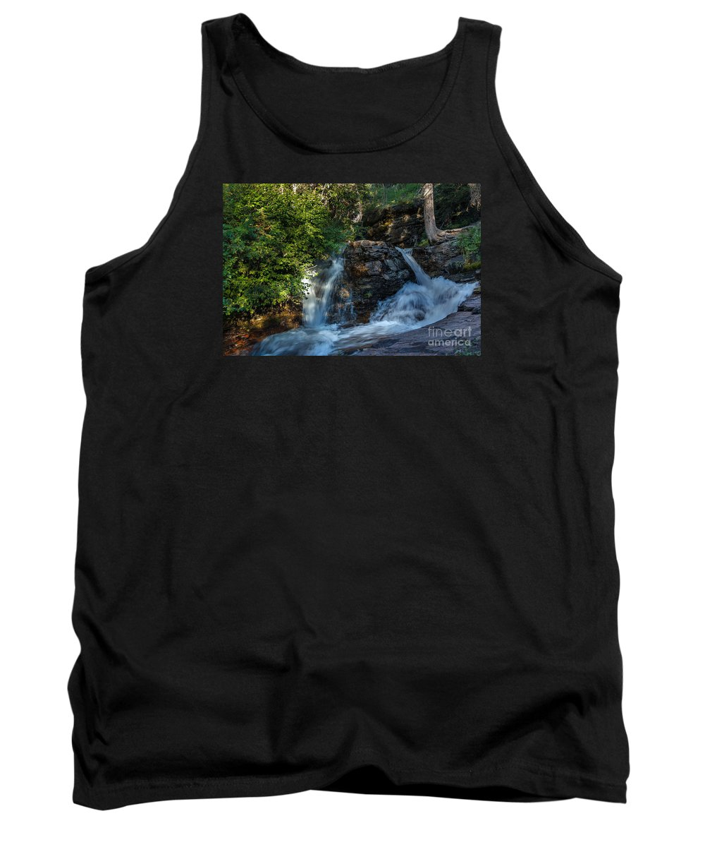 Baring Fall Tank Top featuring the photograph Baring Falls by Robert Bales