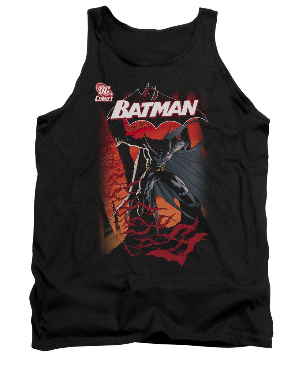 Batman Tank Top featuring the digital art Batman - #655 Cover by Brand A