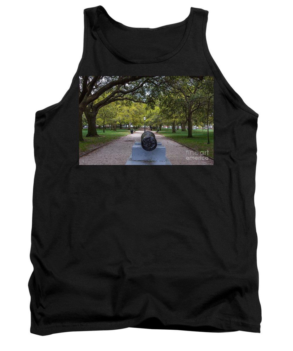 Battery Park Tank Top featuring the photograph Batter Park by Dale Powell
