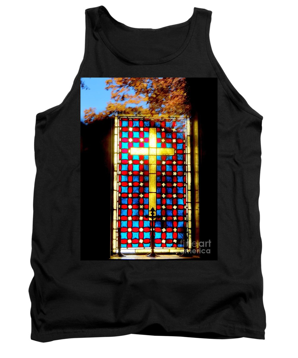 Religious Tank Top featuring the photograph Beacon Of Light by Ed Weidman