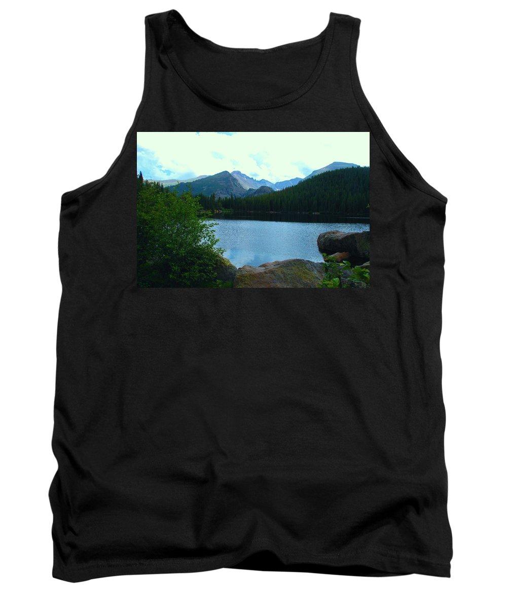 Bear Lake Tank Top featuring the photograph Bear Lake - Colorado by Dany Lison