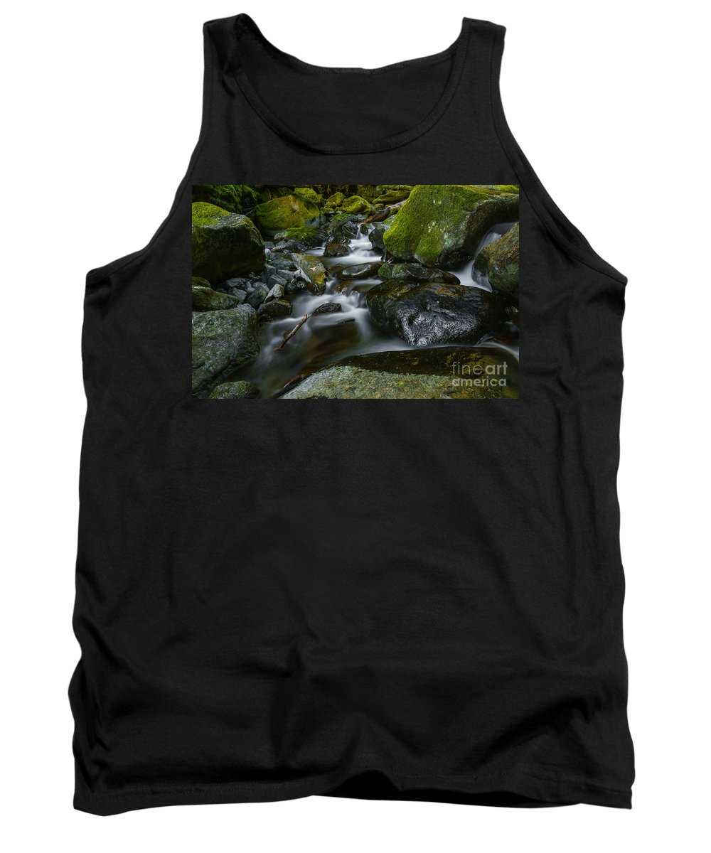 Stream Tank Top featuring the photograph Beautiful Stream by Vishwanath Bhat