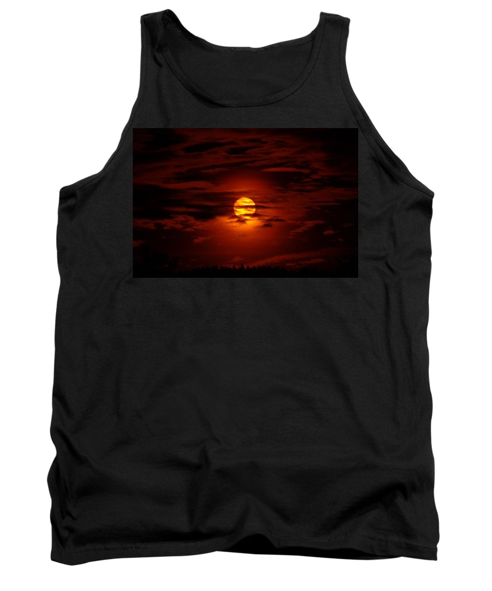 Sun Tank Top featuring the photograph Beauty Of The Sun And Clouds by Jeff Swan