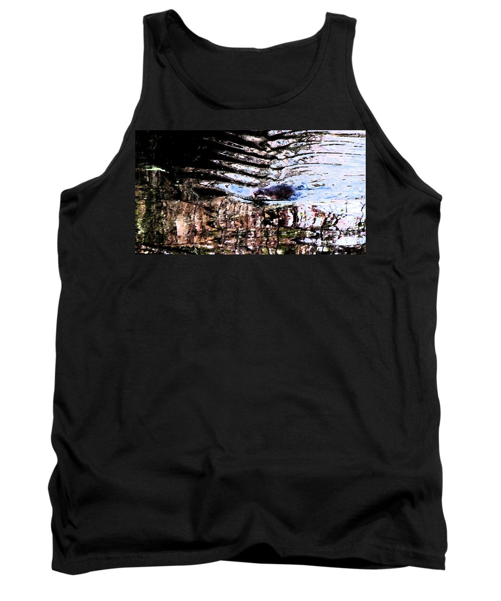 Ron Tackett Tank Top featuring the photograph Beaver Fever by Ron Tackett