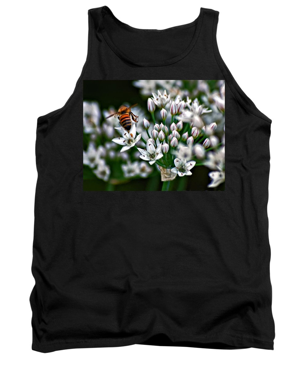 Bee Tank Top featuring the photograph Because by Steve Harrington