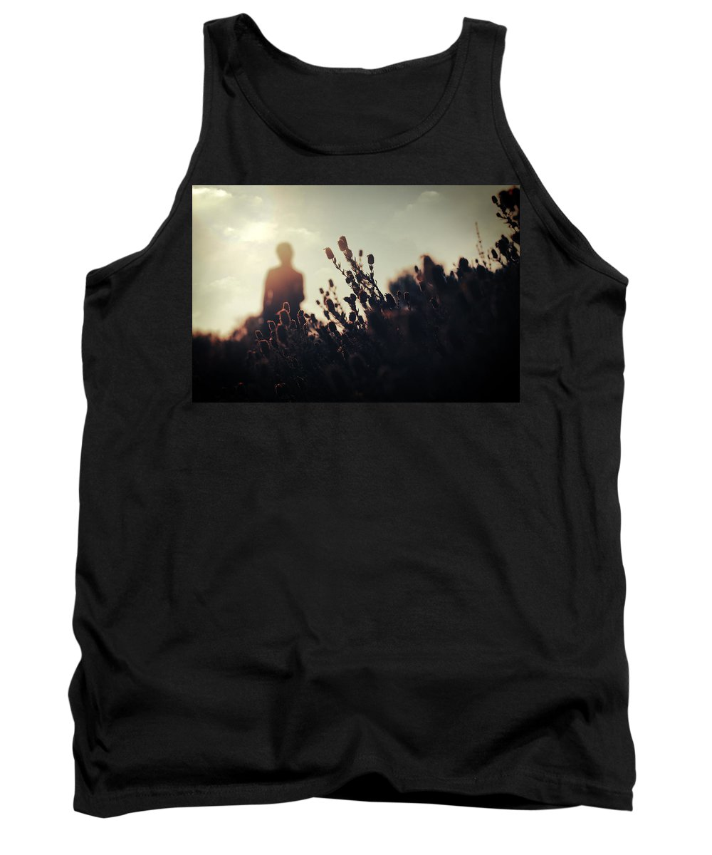 Floras Tank Top featuring the photograph Before Love II by Zapista