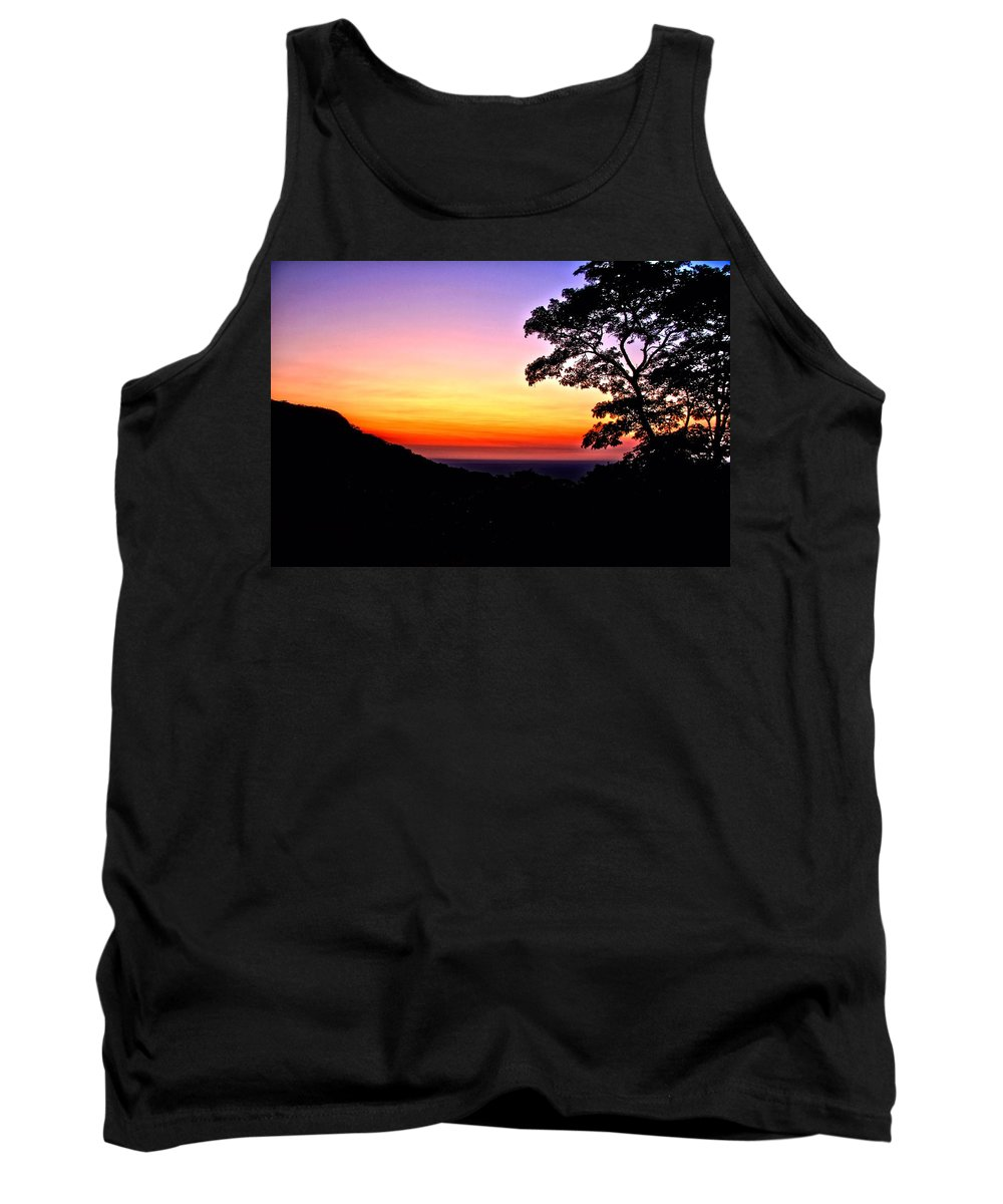 Landscape Tank Top featuring the photograph Zambia - Just Before Sunrise by Martin Michael Pflaum