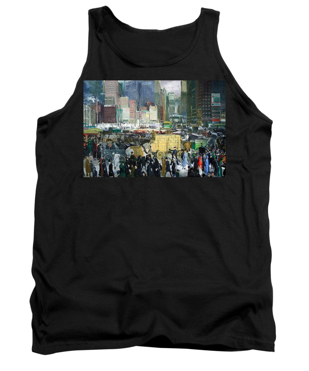 New York Tank Top featuring the photograph Bellows' New York by Cora Wandel