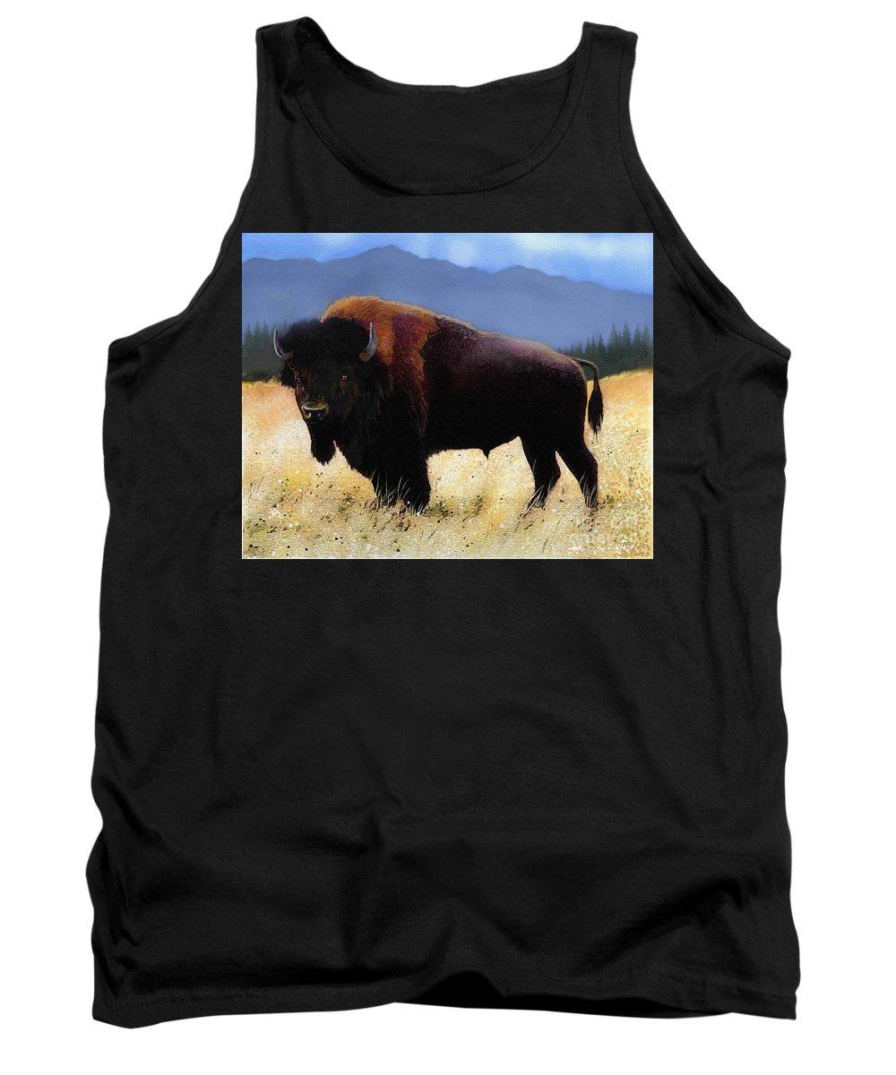 Montana Bison Tank Tops