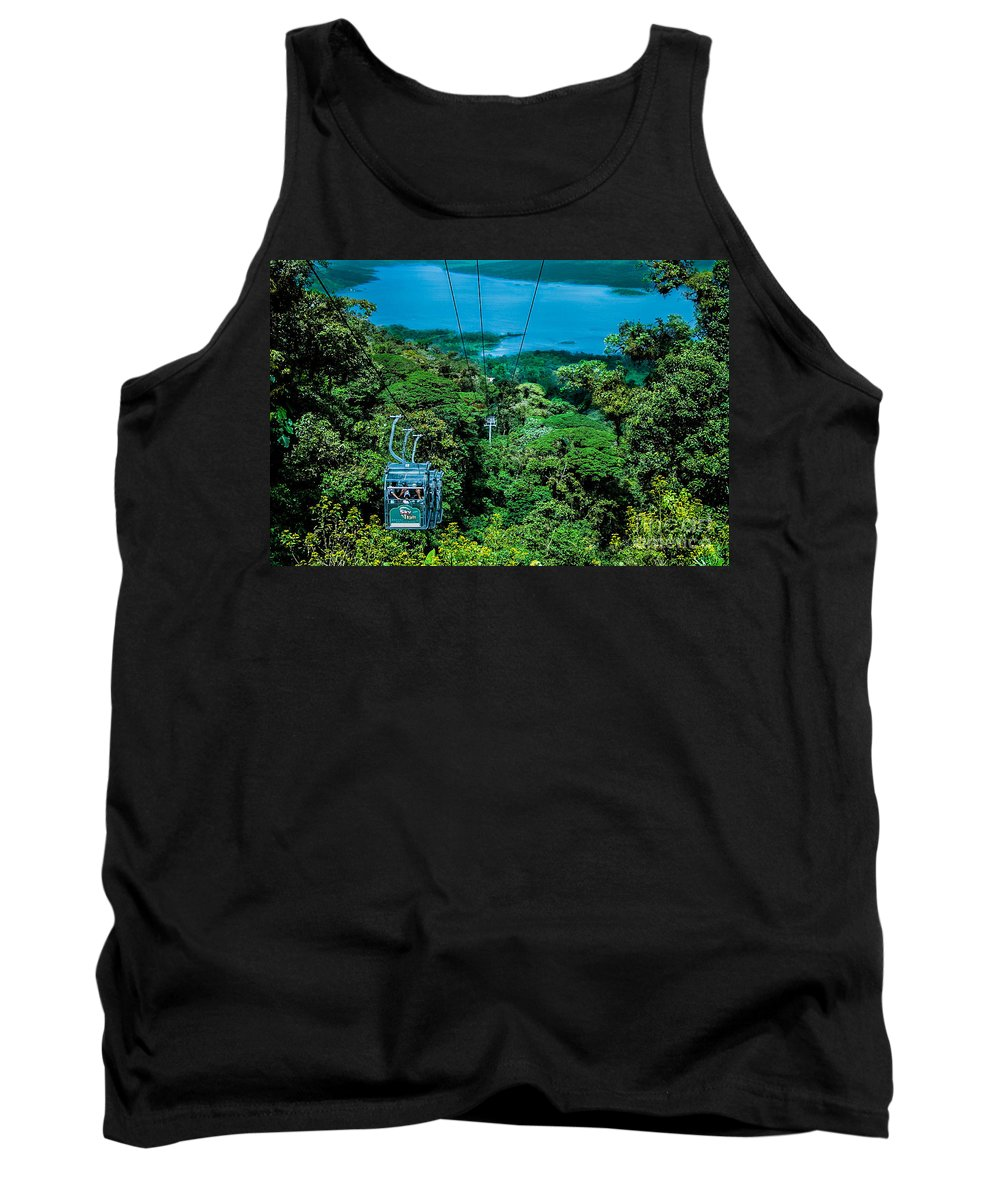 Rica Tank Top featuring the photograph Birds Eye View by Gary Keesler