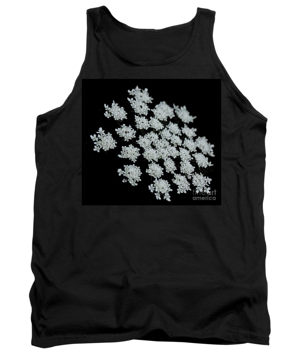 Black Tank Top featuring the photograph Black And White by Lilliana Mendez