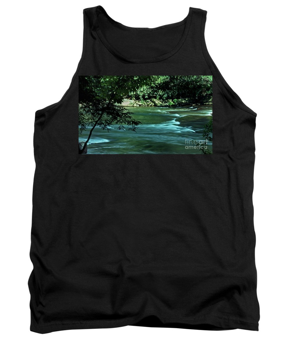 Scenic Tours Tank Top featuring the photograph Black River Nj by Skip Willits