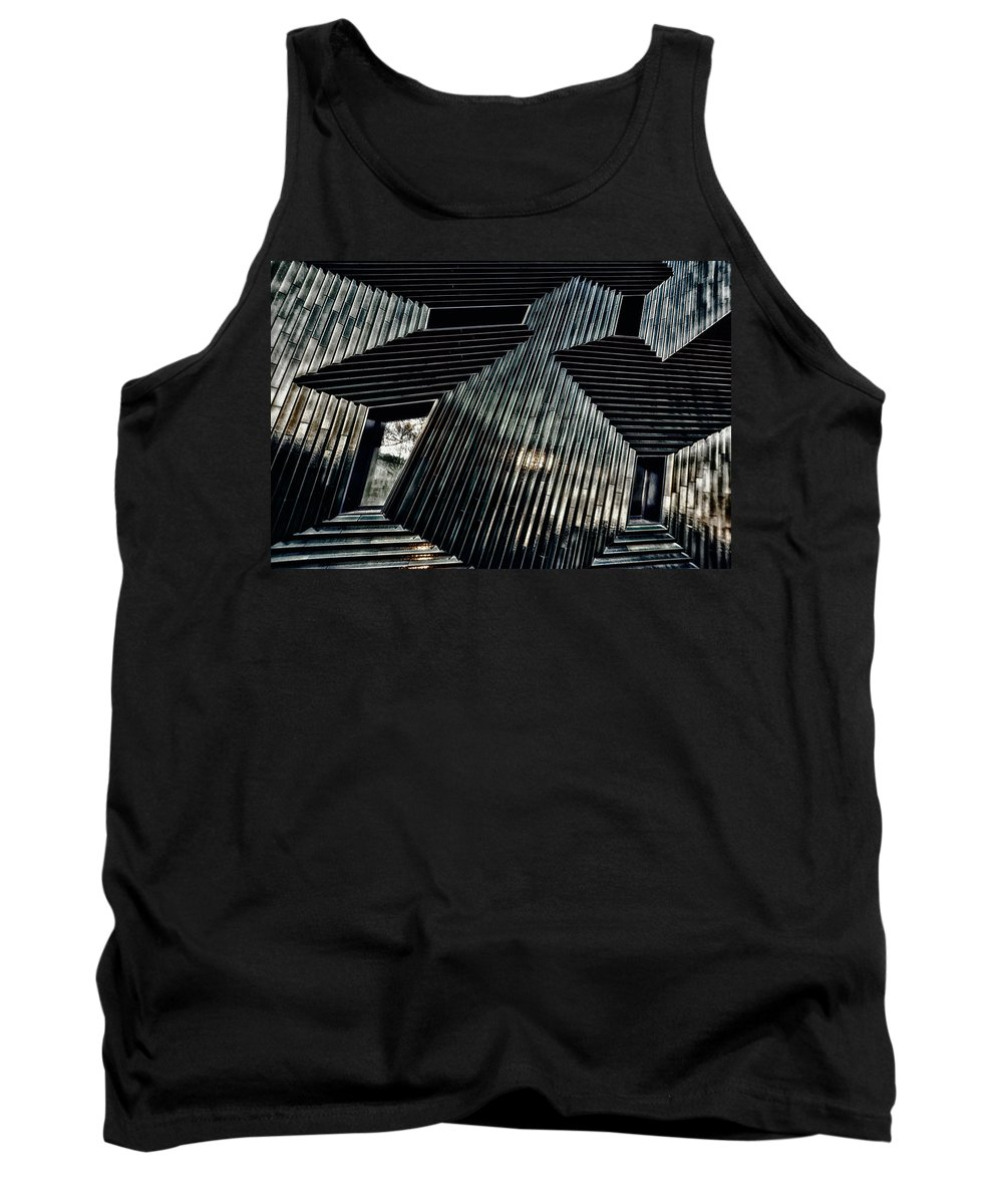 Architecture Tank Top featuring the photograph Blessing by Peter Benkmann