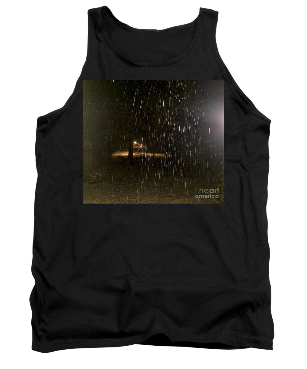 Snow Tank Top featuring the photograph Blizzard by Chris W Photography AKA Christian Wilson