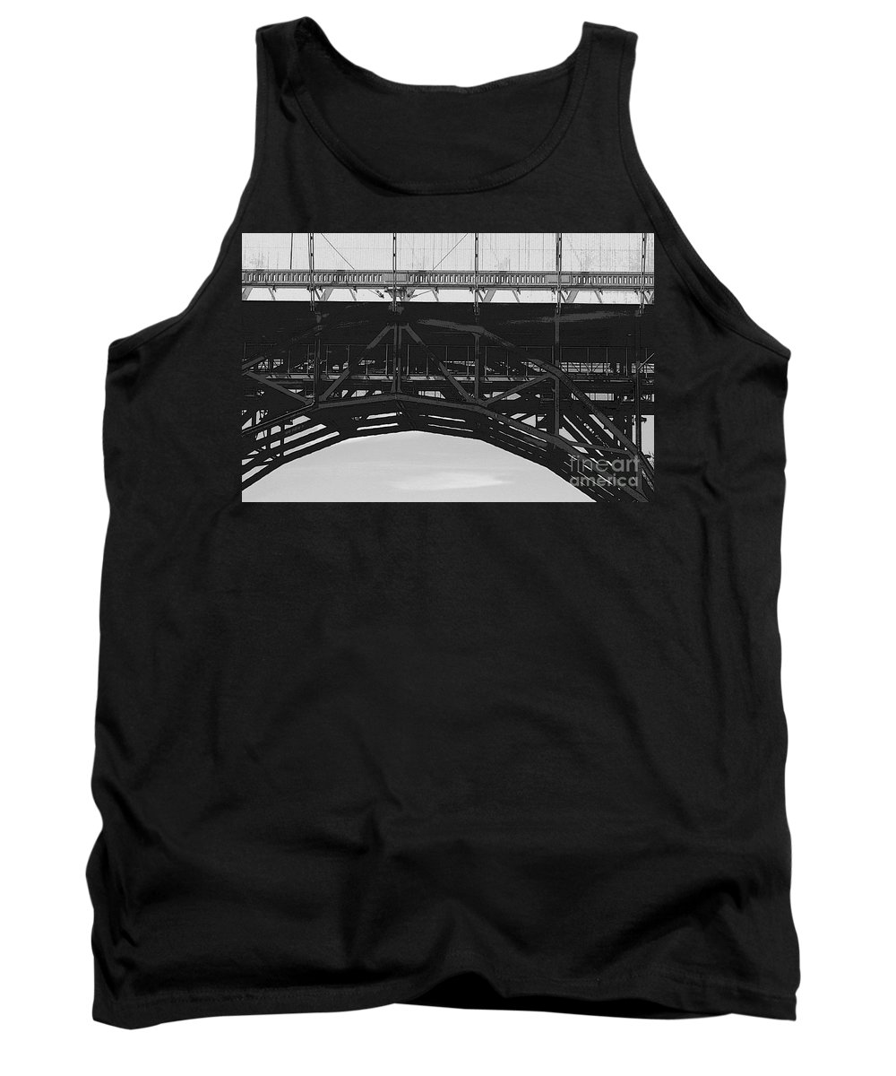 Toronto Tank Top featuring the photograph Bloor Street Viaduct by Nina Silver