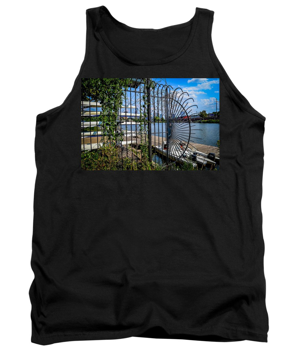 Boathouse Row Tank Top featuring the photograph Boathouse Row by Michael Brooks