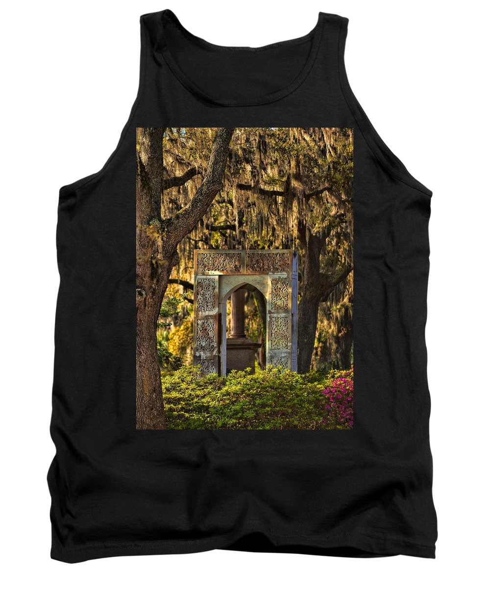 Bonaventure Tank Top featuring the photograph Bonnaventure by Diana Powell